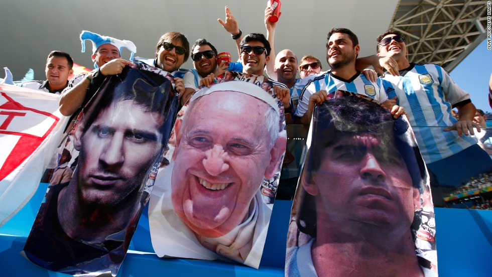 But just who is the best ever Argentine player -- Lionel Messi or Maradona? Fellow Argentine Pope Francis remains neutral ...
