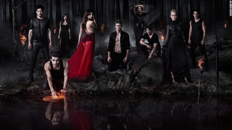 "In 2009, The CW -- a.k.a., the network the teens watch -- premiered  ""The Vampire Diaries,"" another TV show adapted from a book series. Starring a pair of ridiculously handsome brothers and the teen girl they both fall for, ""TVD"" has an equal mix of heat, camp and teen-friendly plotting."