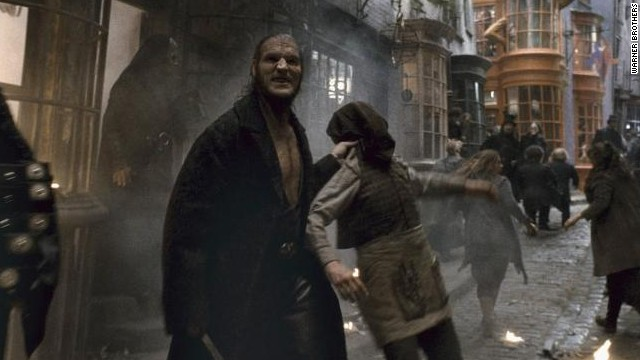 "David Legeno played Fenrir Greyback in the ""Harry Potter"" movies."