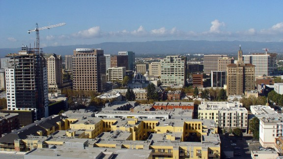 San Jose, in Silicon Valley, has seen massive growth over the past decade. The housing market is currently among the most expensive in the US with a median multiple of 9.6.
