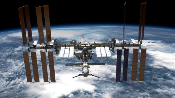 We haven't been back to the moon in person but we have made huge advances in space: International space agencies have worked together to build an impressive space station.