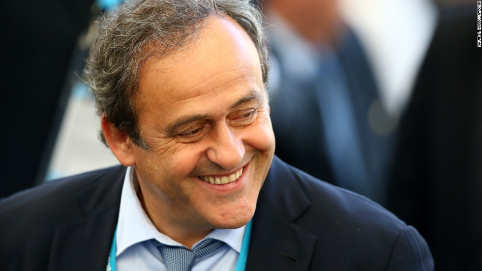 The former French great was once an ally of Blatter, but in recent years had opposed the president on many issues. Platini, who turns 60 this month, has been the head of UEFA since 2007 and is a FIFA vice president. He was one of the all-time best players, having three times won European player of the year. Just a few years ago he appeared to be Blatter's successor -- until the president announced he would run again.