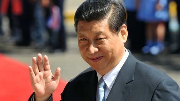 Chinese President Xi Jinping waves upon his arrival at the presidential house in San Jose, on June 3, 2013. Xi is on an official three-day visit to Costa Rica. AFP PHOTO/Hector RETAMAL (Photo credit should read HECTOR RETAMAL/AFP/Getty Images)