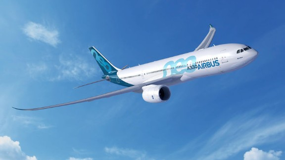 Airbus CEO Fabrice Bregier announced at the Farnborough Airshow that the company will release a new A330neo airliner --  a revamped version of their A330 model.