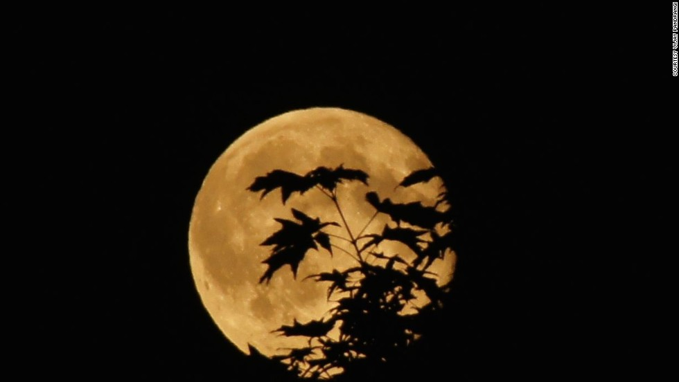 The Summer S Brightest Supermoon In August Cnn