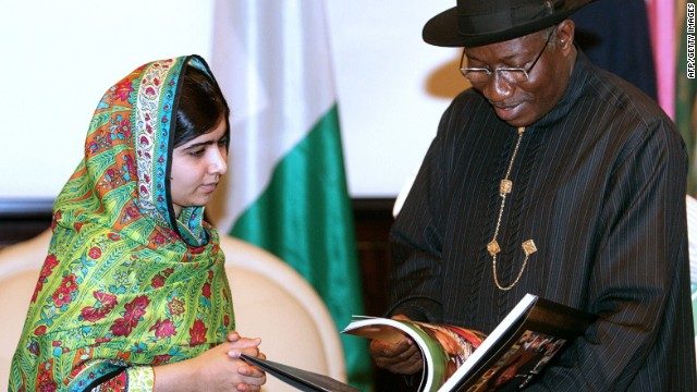Malala campaigns for missing schoolgirls