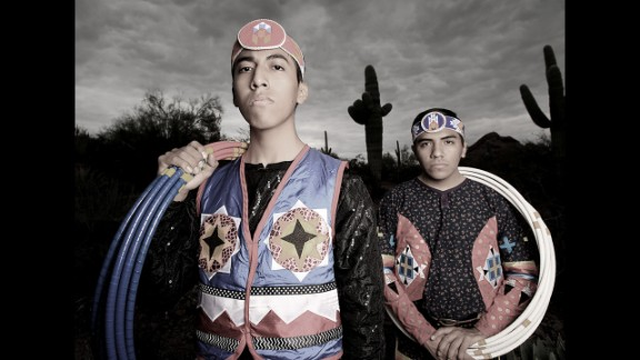 Sky and Talon Duncan are world champion hoop dancers from the Three Affiliated Tribes of Mandan, Hidatsa and Arikara Nation and San Carlos Apache Tribe.