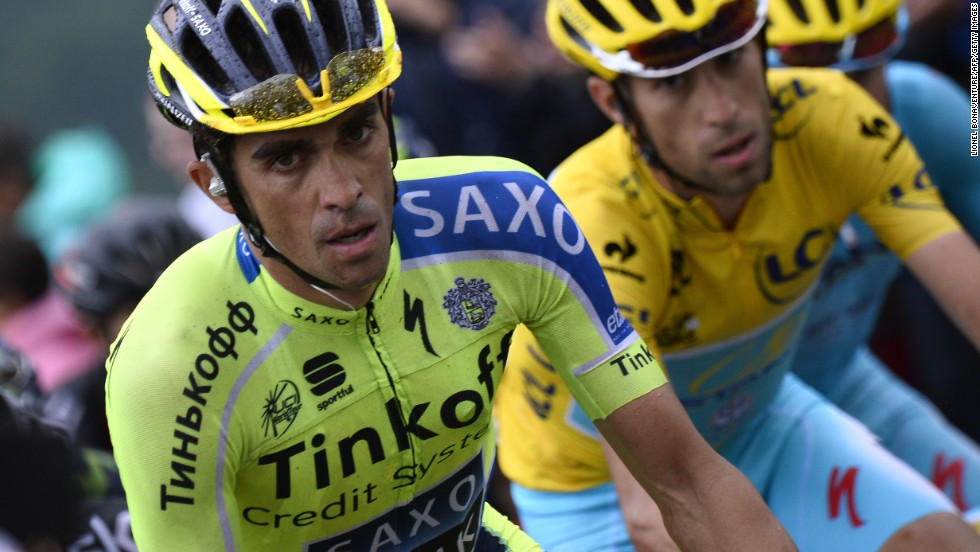 Alberto Contador will be bidding for his third victory in the Tour de France.