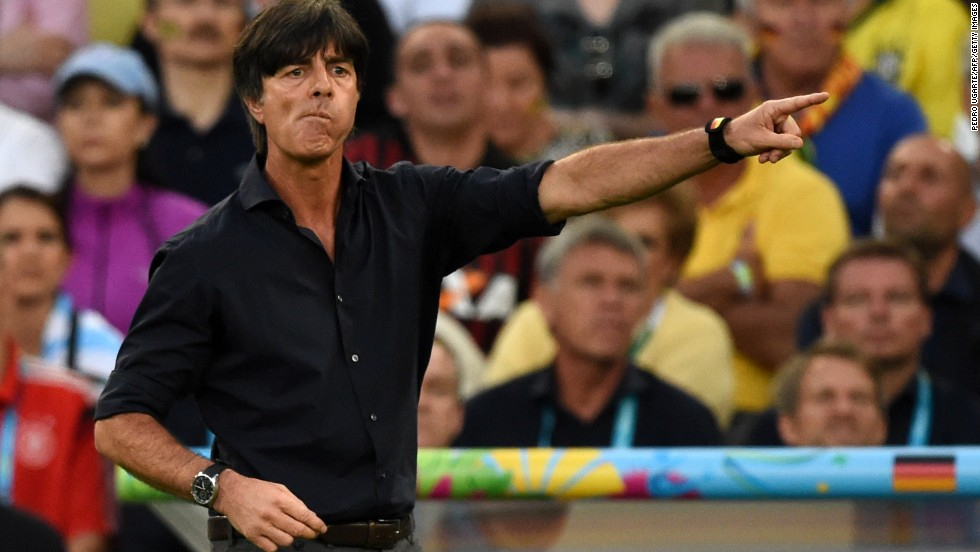 It was feared Germany would disappoint when it hosted the World Cup in 2006. Two years prior to the tournament, former national team star Jurgen Klinsmann took over as head coach with Joachim Low (pictured) as his assistant. Germany reached the semifinals of the World Cup on home soil, playing an exciting brand of football which delighted its fans. Eight years on and Low, who has been head coach since July 2006, has just led Germany to triumph at Brazil 2014.