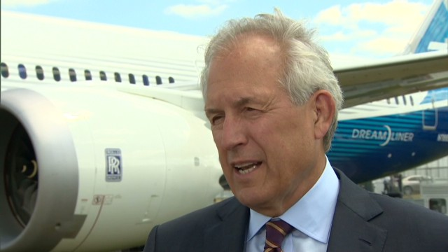 Boeing CEO: I like our line-up a lot