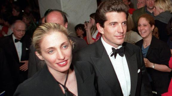 John F. Kennedy Jr. and his wife, Carolyn Bessette Kennedy, in May 1999, a few months before they died in a plane crash.