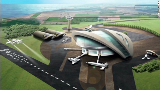 Britain enters the spaceport race