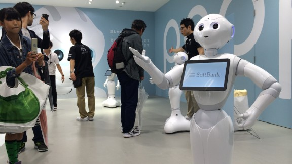 'Pepper', a robot capable of emotionally evolving and responding to its user's mood sold out in a minute during its consumer release on June 20, 2015.