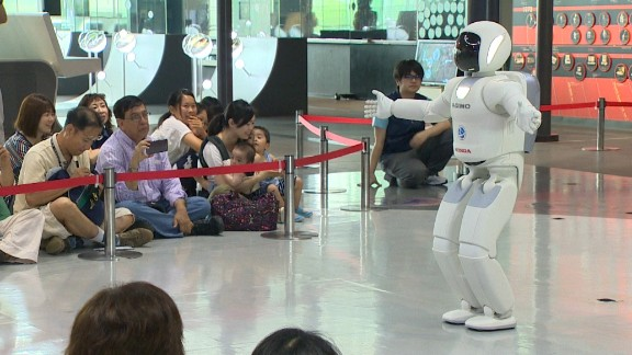 Honda first introduced ASIMO (Advanced Step in Innovate Mobility) in 2000 and several updated models have been released since, most recently in 2014.