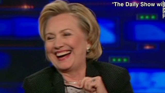 Clinton hints at 2016 run on 'Daily Show'