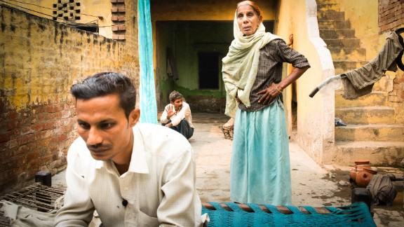 Narinder, a 36-year-old schoolteacher, cannot find a bride in his village in Uttar Pradesh. He has contacted an agent to find him a bride from another state to help his family.