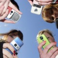 getty image teens cell phones