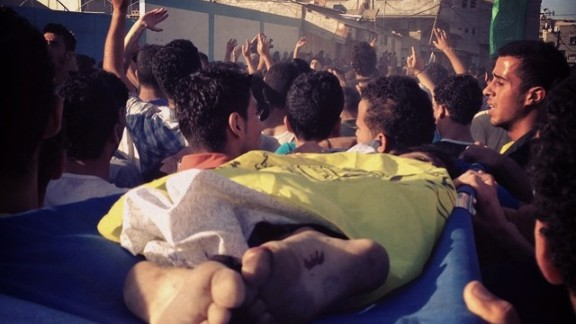 Four boys, aged 9 to 11, were killed on Gaza
