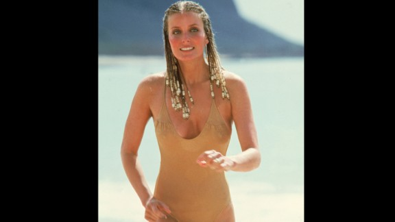 "In the 1979 movie ""10,"" Bo Derek"