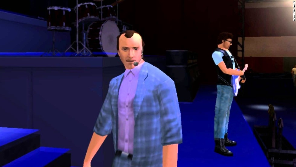 "The popular street-crime series ""Grand Theft Auto"" has featured the images and voices of a host of real celebrities. But singer/musician Phil Collins was the first. In 2006's ""Vice City Stories,"" Collins played himself in a story in which the player tries to protect him from a mob hit. After completing the mission, the player can attend a concert at which Collins performs his hit ""In the Air Tonight."" It makes sense: Collins appeared on the '80s TV series ""Miami Vice,"" which inspired the game."