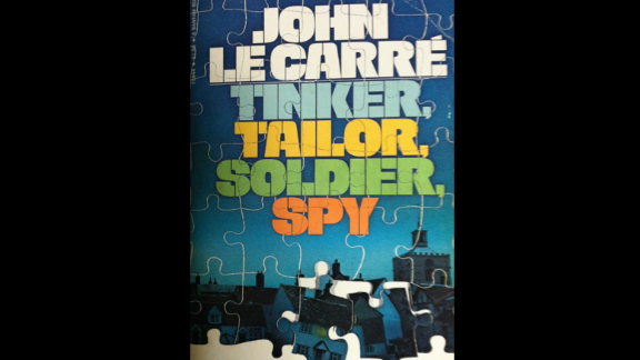 """""""Tinker, Tailor, Soldier, Spy,"""" the first novel of John LeCarre"""