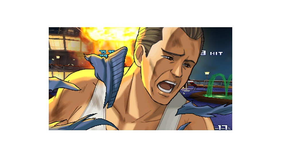 "OK, as far as we know, there's not a real Bruno Delinger. But take a look at that photo, from last year's ""Project X Zone,"" and follow along. Bruno, like ""Project X Zone's"" other characters, first appeared in another game, the lesser-known ""Dynamite Cop."" But that game was originally supposed to be ""Die Hard,"" before Sega had trouble securing the rights to the 1988 movie starring, yep, Bruce Willis. (Note: Willis' 1987 blues album was called ""The Return of Bruno."")"