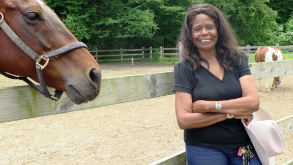 Patricia Kelly is an equestrian and former Marine.