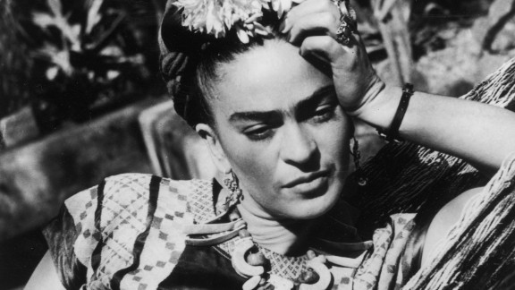 Mexican artist Frida Kahlo, who died 60 years ago this month, is perhaps most famous for her surreal self-portraits which today fetch up to $5m. But her distinctive floral headwear, folk costume and strong brows have also inspired a legion of women to dress up like their hero.