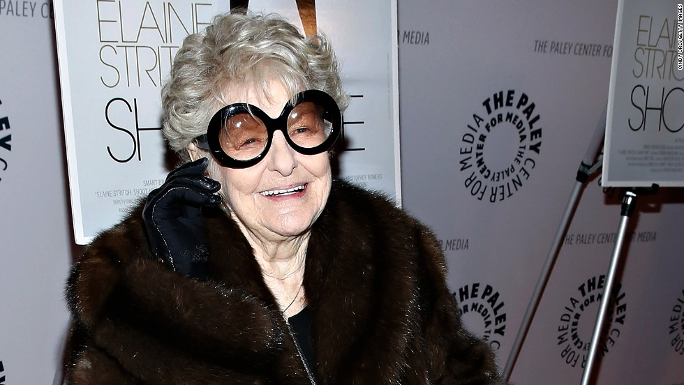 "Elaine Stritch, the brassy, gravelly voiced actress of stage and screen, died on July 17. She was 89. In February of this year, she attended a screening of ""Elaine Stritch: Shoot Me."" Look back at her legendary career."