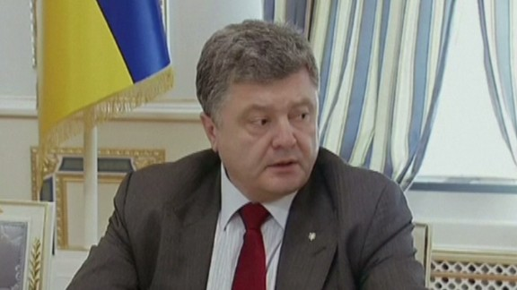 nr sot ukraine president petro poroshenko malaysia airlines mh17 plane crash_00002427.jpg