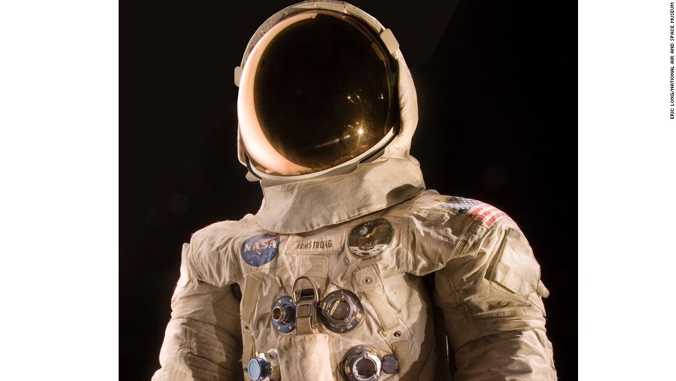This Spacesuit Was Worn By Astronaut Neil Armstrong Commander Of The Apollo 11 Mission
