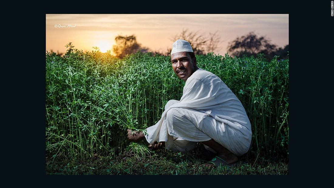 Farmer from Tuti Island.