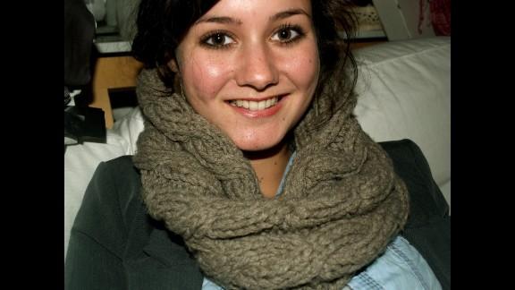 Tessa van der Sande, an Amnesty International employee, was on the flight.