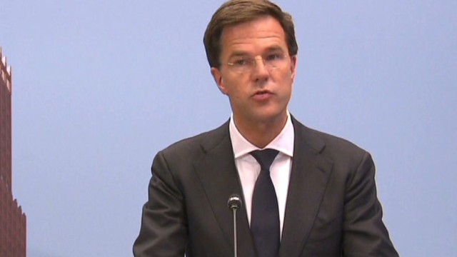 Dutch PM demands access to MH17 scene
