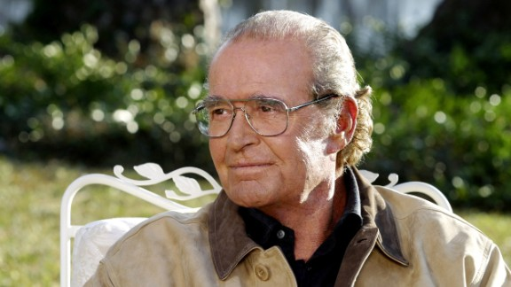 "James Garner appears in character in ""The Notebook"" in 2004."
