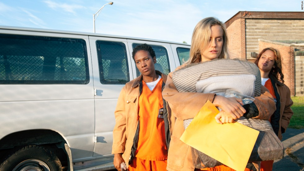 """Orange Is the New Black,"" about the inmates of a women's prison, premiered July 11, 2013. Netflix said in November that it was the service's most-watched original series. The first season received 12 Emmy nominations. The second season premiered June 6, 2014."