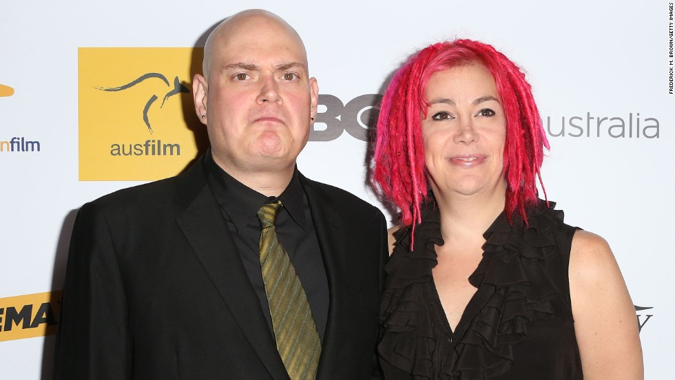 "Siblings Andy and Lana Wachowski, who created the ""Matrix"" movie trilogy, are at work on a Netflix series called ""Sense8."""