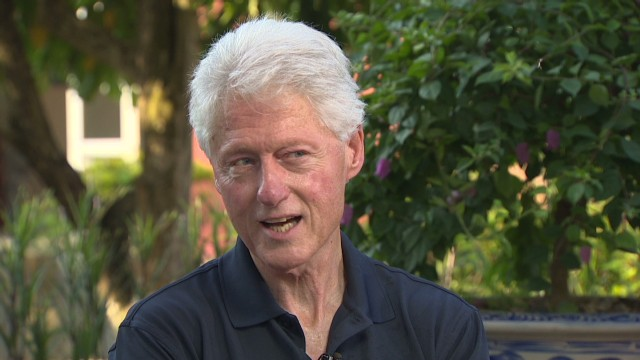 Bill Clinton on Hillary and Asia tour