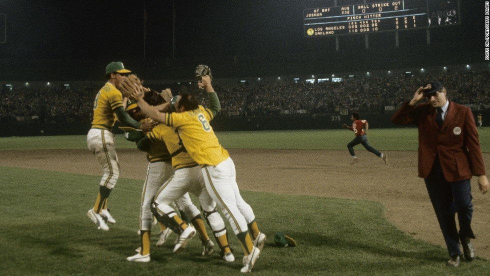The Oakland Athletics' journey to their third World Series in a row continued in the summer of 1974, culminating in a Game 5 win over the Los Angeles Dodgers.