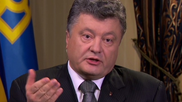Ukraine Pres gets heated over Russia claim
