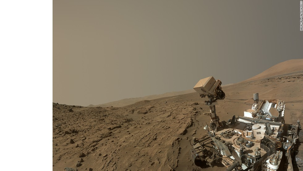 "Even the robots are getting in on selfie fever!<a href=""http://www.nasa.gov/press/2014/june/nasa-s-mars-curiosity-rover-marks-first-martian-year-with-mission-successes/#.U80-R_ldV8F"" target=""_blank""> NASA released a self-portrait taken by the Curiosity rover on June 24</a> 2012 to commemorate being on the Red Planet for a full Martian year (687 Earth days). While this intricate selfie looks fab, the exploration rover hasn't always taken the best shots ..."