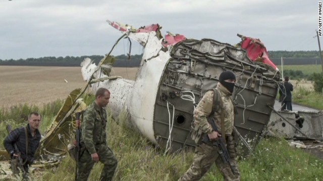 Ukrainian President compares MH17 to 9/11