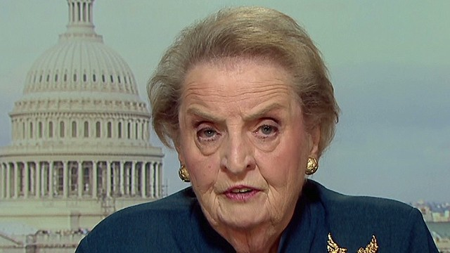 Albright: Israel's moral authority hurt