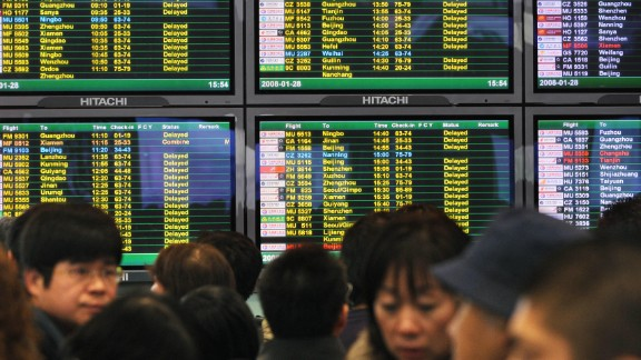 Hundreds of flights were canceled in China July 21, 2014, but reasons given were few.