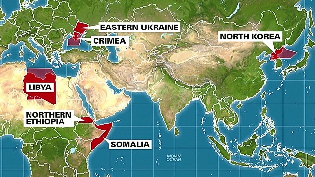 Many flights soar over conflict zones - CNN