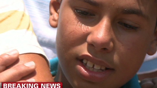 Kids find no escape from Gaza violence