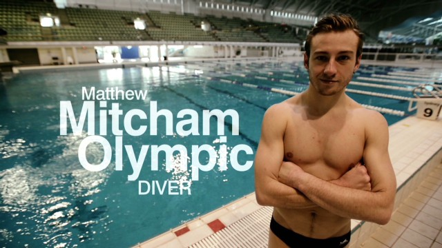 Gay diving champion beats depression