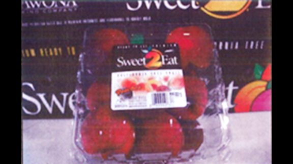 """<a href=""""http://www.cnn.com/2014/07/22/health/costco-fruit-recall/index.html?hpt=hp_t2"""">Wawona Packing Co. is voluntarily recalling</a> peaches, nectarines, plums and pluots that were packed at its Cutler, California, warehouses between June 1 and July 17. Wawona believes the products, many of which carry a """"Sweet 2 Eat"""" sticker, may be contaminated with Listeria monocytogenes. The nationwide recall includes BJ's peaches in clamshell packaging, pictured here. Click through to see a sampling of <a href=""""http://www.fda.gov/Safety/Recalls/ucm405943.htm"""" target=""""_blank"""" target=""""_blank"""">the recalled products</a>, according to the U.S. Food and Drug Administration."""