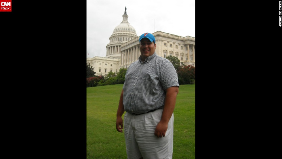 "<a href=""http://ireport.cnn.com/docs/DOC-1151220"">Ben Boukari</a> has always been overweight. At his heaviest, he weighed 379 pounds and had a 52-inch waist. His focus wasn't on his health but his future in politics."