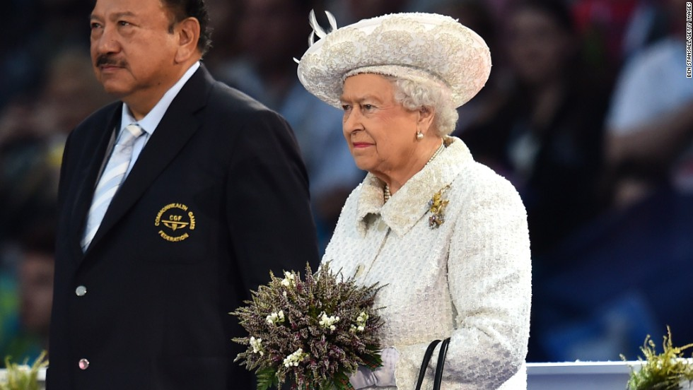 The 88-year-old Queen Elizabeth II is the patron of the Commonwealth Games.